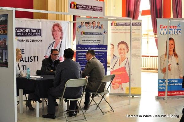 Feira de emprego Careers in White em Lisboa, Porto e Coimbra