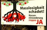 Cidadãos suíços aceitaram a iniciativa popular 'contra a imigração em massa'