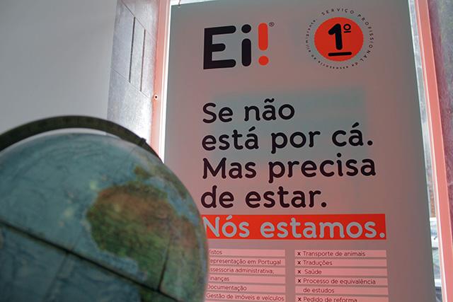 Ei! – serviço profissional de apoio ao e(i)migrante em Portugal