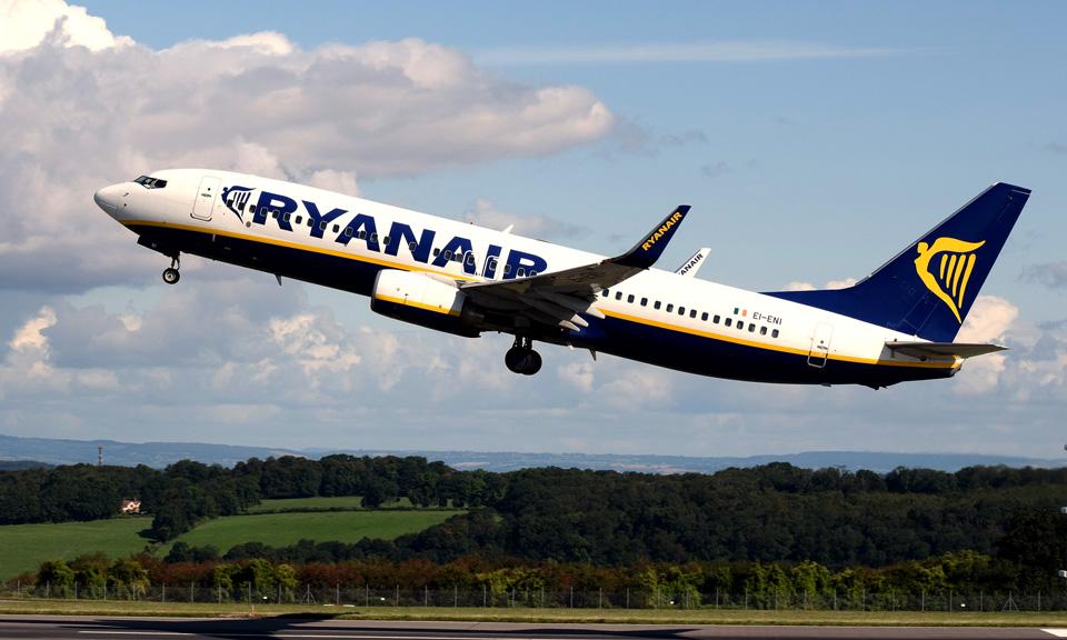 Ryanair promove sessões de recrutamento em Novembro e Dezembro